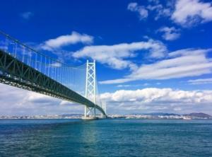 海と橋画像