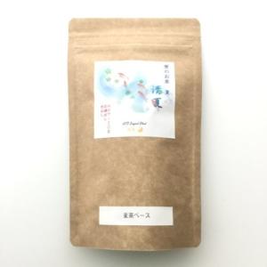 夏のお茶麦茶ベース画像