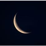 二十六夜の月